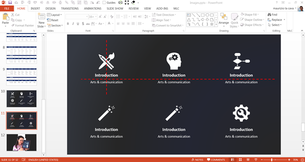 How to create cool PowerPoint tables