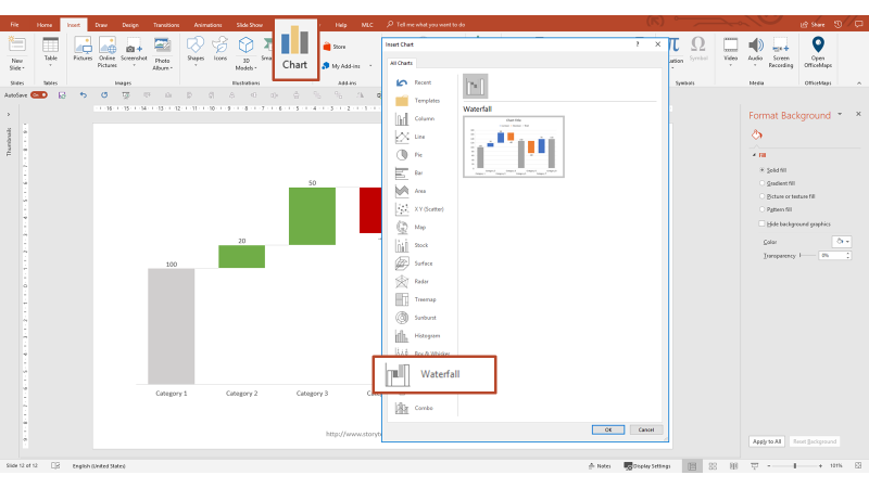 Presenting Data in PowerPoint