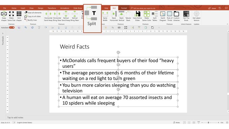 unknown PowerPoint Hacks