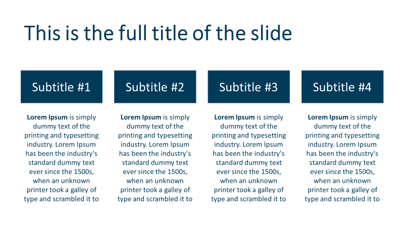 12 secrets to make a presentation look consistent